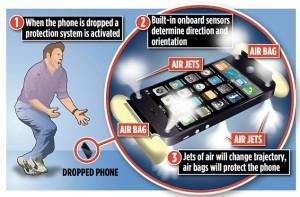 Подушка безопасности для мобильника