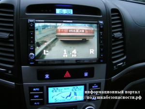 камера парктроника