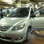 Mazda MPV Install SRS